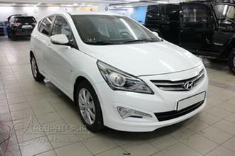 Hyundai Solaris restyle